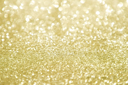 Semi defocused golden abstract background photo
