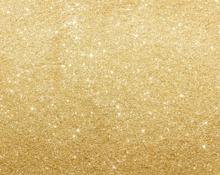 shimmering: Glamour gold sparkling background Stock Photo