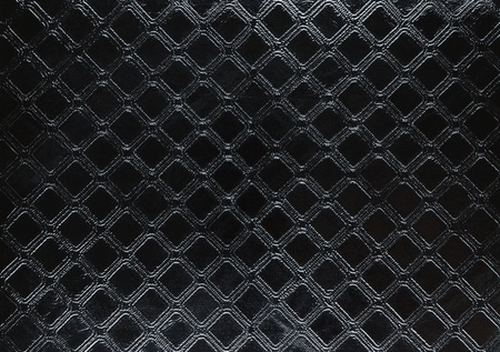 black leather texture: Black shiny leather background