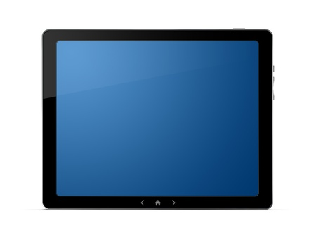 Digital PC tablet with clipping paths Stock Photo - 10207604