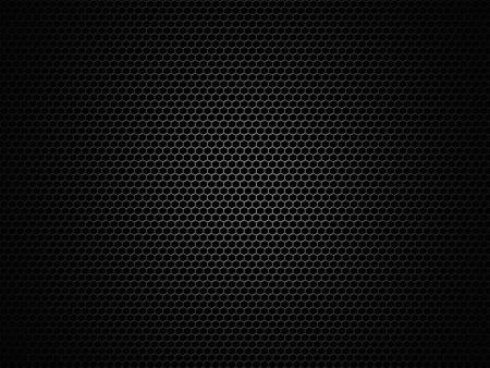 Lautsprecher wabenförmige Gitter Hintergrund