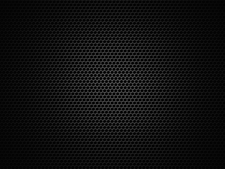 Speaker honeycomb grille background photo
