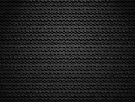 쇠 격자: 스포트라이트가에 타격 어두운 금속 메쉬