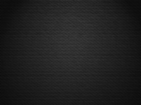 metal mesh: Dark metal mesh with spotlight hitting on it Stock Photo