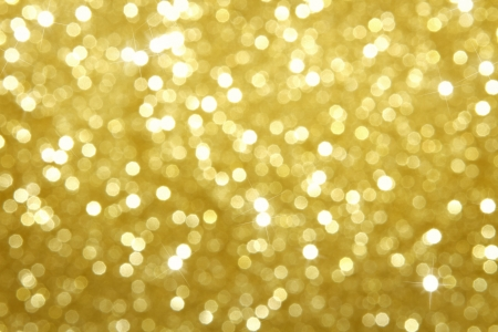 sparkles: Gold glitter abstract background Stock Photo