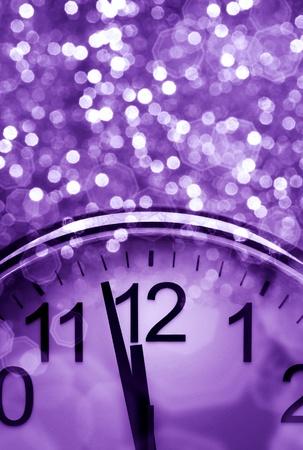 fin d annee: Purple arri�re-plan abstraite du nouvel an