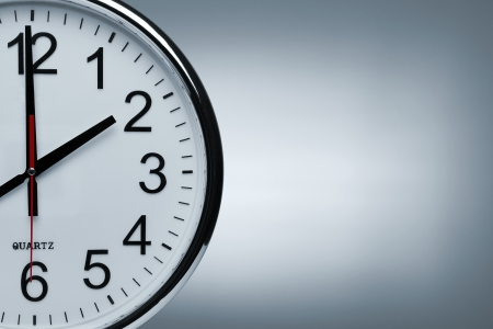 reloj de pared: Fondo de reloj con espacio de copia