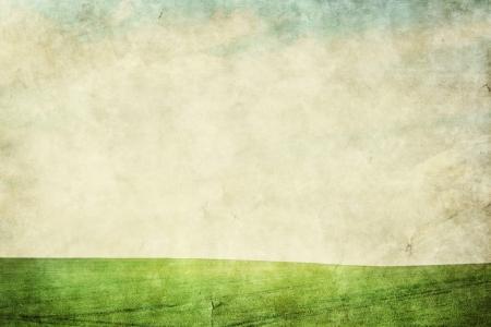 Grunge landscape background photo