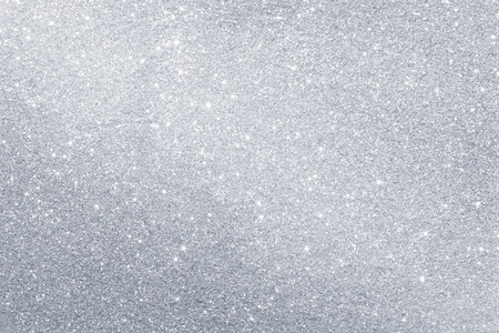silver christmas: Silver background Stock Photo