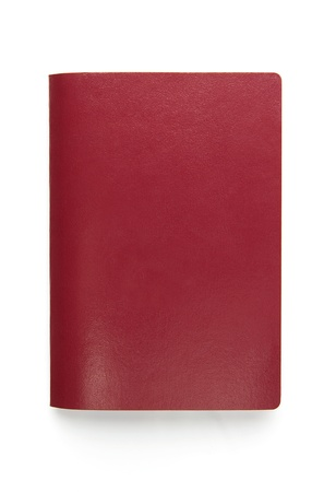 pasaporte: Pasaportes en blanco aislado en blanco Foto de archivo