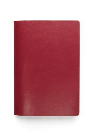 passeport: Passeports vierges isolé sur fond blanc
