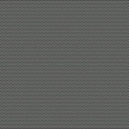 hard cover: Silver metal mesh Stock Photo