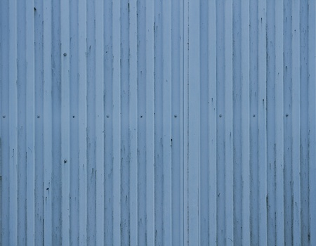 Old blue cargo container texture photo