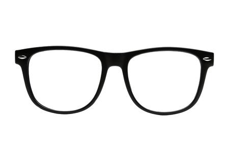 Black retro nerd frames Imagens