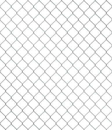 chained link: Shiny seamless chainlink fence with brushed metal texture