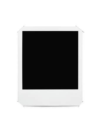 Blank picture frame photo