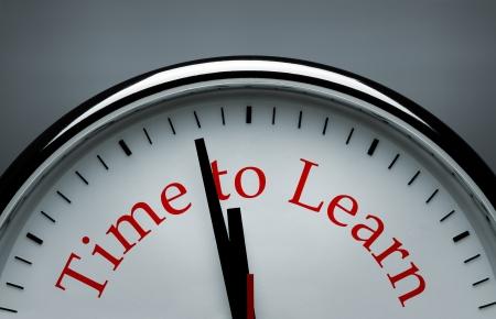 fondo de graduacion: Tiempo para aprender la imagen conceptual