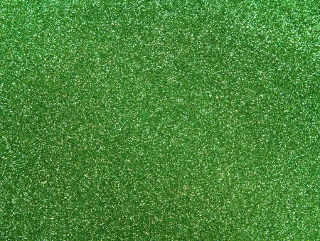 green and gold: Green glitter background
