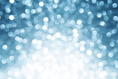 Blue defocused lights background Stock Photo