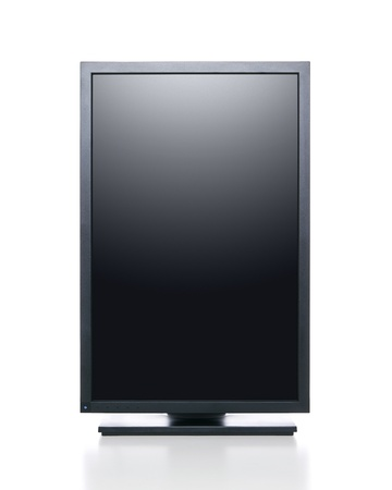 lcd tv: Computer monitor.  Stock Photo