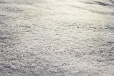 bumpy: Snow at sunset, winter background