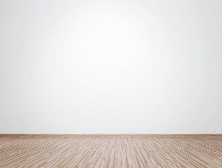 Empty bright interior with copy space Stock Photo