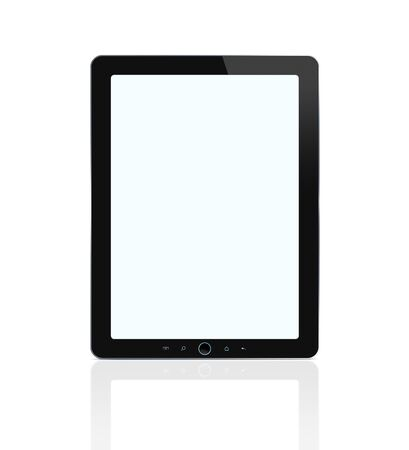 Digital tablet isolated on white background  Stock Photo - 12538377