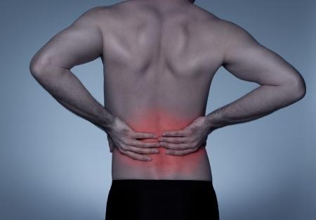 back ache: Back pain