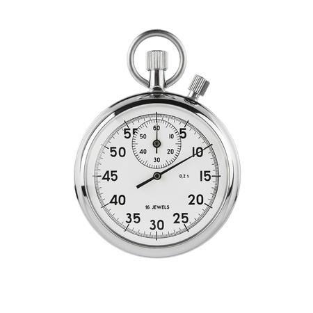 Stopwatch on white background background