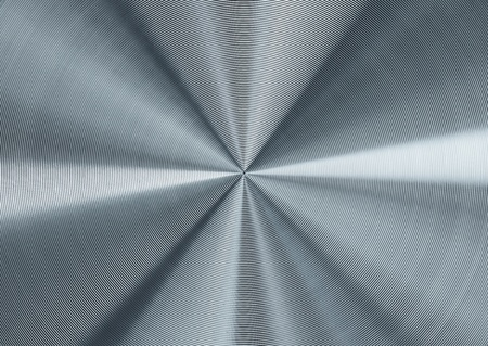 Circular silver metal background photo