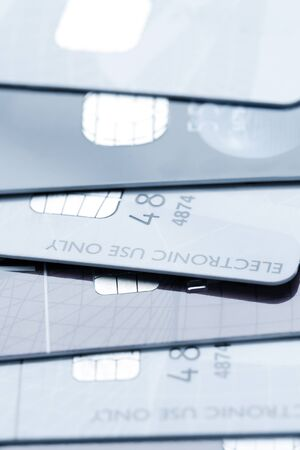 Stack of credit cards Stock Photo - 13214587