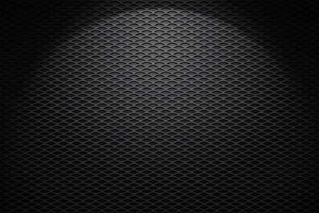 metal grate: Brushed metal mesh industrial background with copy space