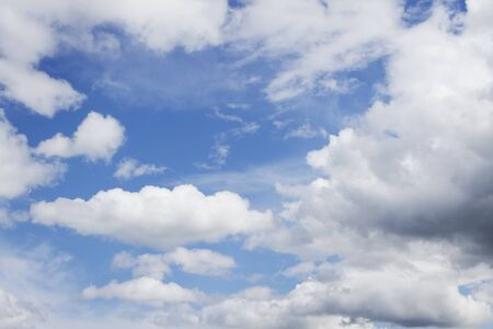 Cloudy sky background with copy space Stock Photo - 13896309