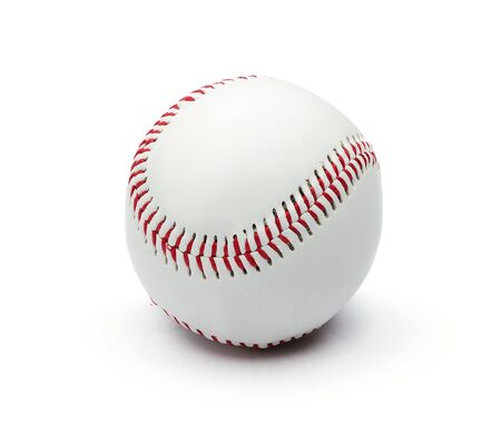 Baseball Isolated On White Background photo