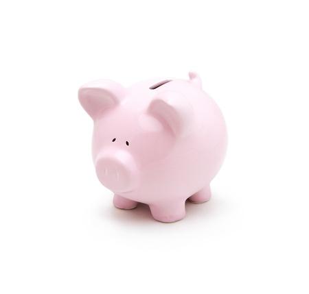 bankkonto: Piggy Bank isoliert auf wei�em Hintergrund
