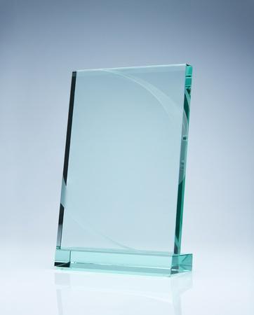 glas: Foto von leeren Glas Auszeichnung Platte mit Kopie Raum Lizenzfreie Bilder
