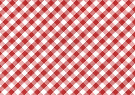 kontrolovány: Classic prádlo červené a bílé zkontrolovat ubrus textury s kopií vesmíru Reklamní fotografie