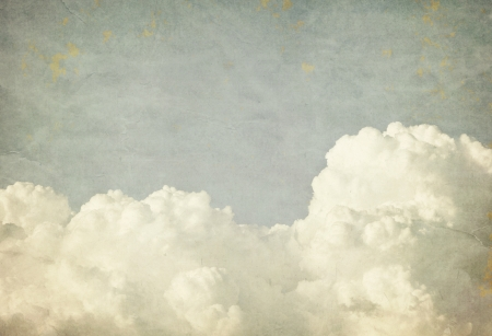 Grunge clouds and sky background with copy space Stock Photo - 14555779