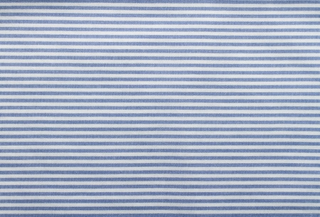 White and blue striped fabric texture with copy space Stock Photo - 14811386