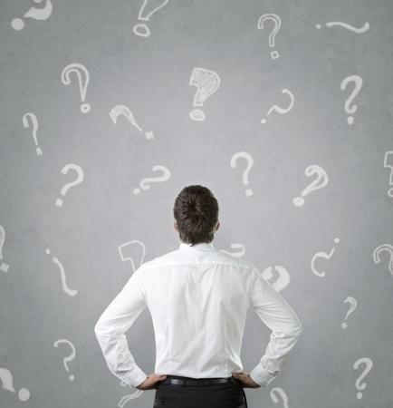 persona confundida: Concepto confuso