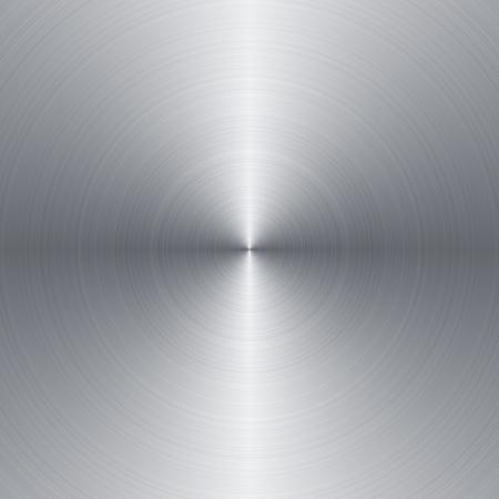 Radial szczotkowany metal tle z miejsca kopiowania Zdjęcie Seryjne