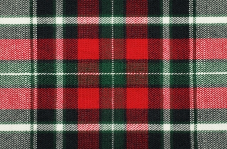red  plaid: Blank checkered fabric texture, background with copy space