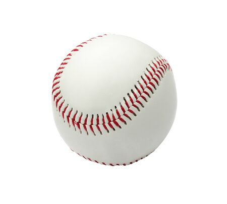 Baseball ball isolated on white background photo