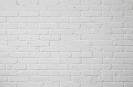 White brick wall texture Stock Photo - 19194459