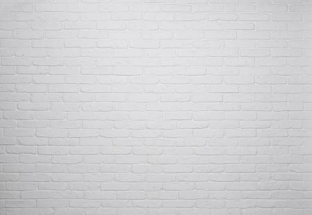 White brick wall background, texture