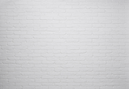 brickwalls: White brick wall background, texture