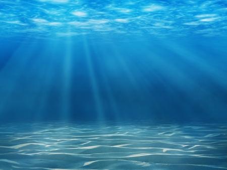 Tranquille sc?ne sous-marine avec copie espace Banque d'images