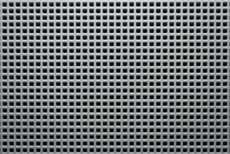 Silver metal mesh texture, background with copy space photo