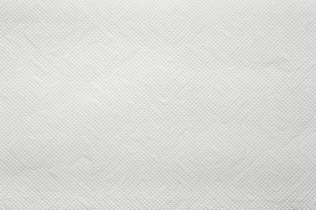 Blank paper napkin texture with copy space photo