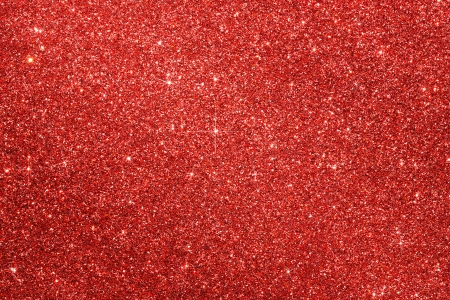 Red Glitter Christmas Background With Copy Space photo